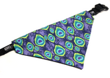 Perfect Peacock Bandana (Nylon Collar Not Included)