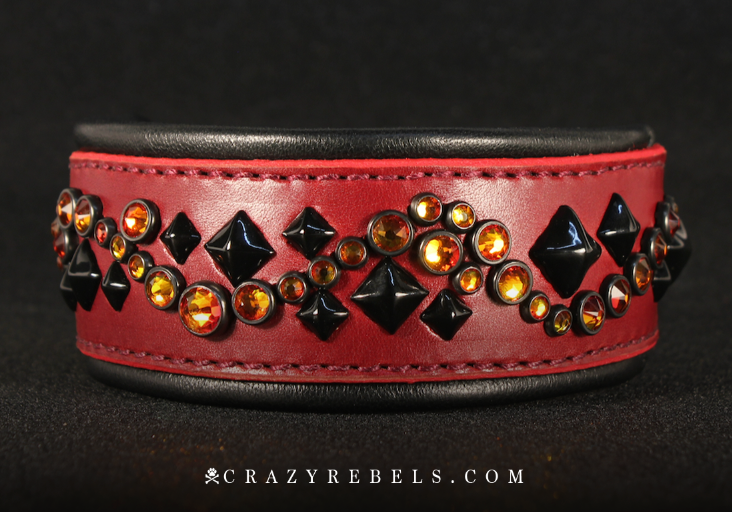"Devilicious Illusion Collar, 11""- 13"""