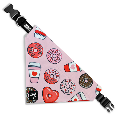 Sweet Heart Bandana Collar