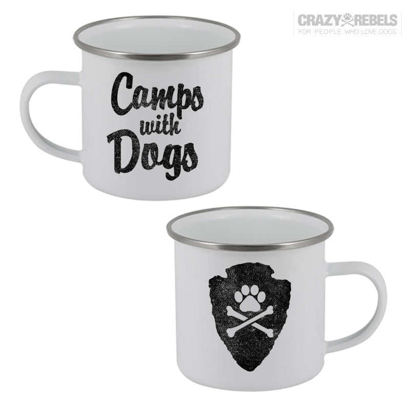 Camps With Dogs Camping Mug
