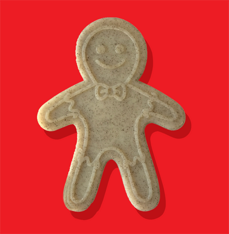 Gingerbread Man Chew Toy