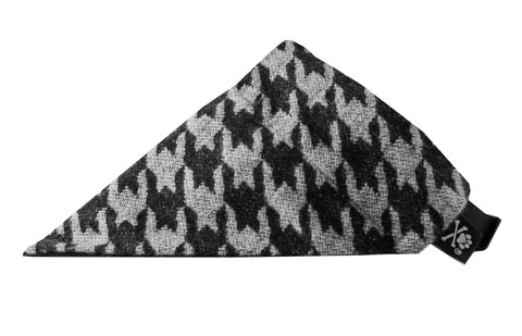 Houndstooth Bandana (Nylon Collar Not Included)