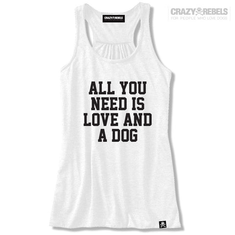 Love & A Dog Women's Tank