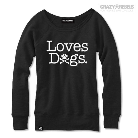 Loves Dogs Women's Sweatshirt