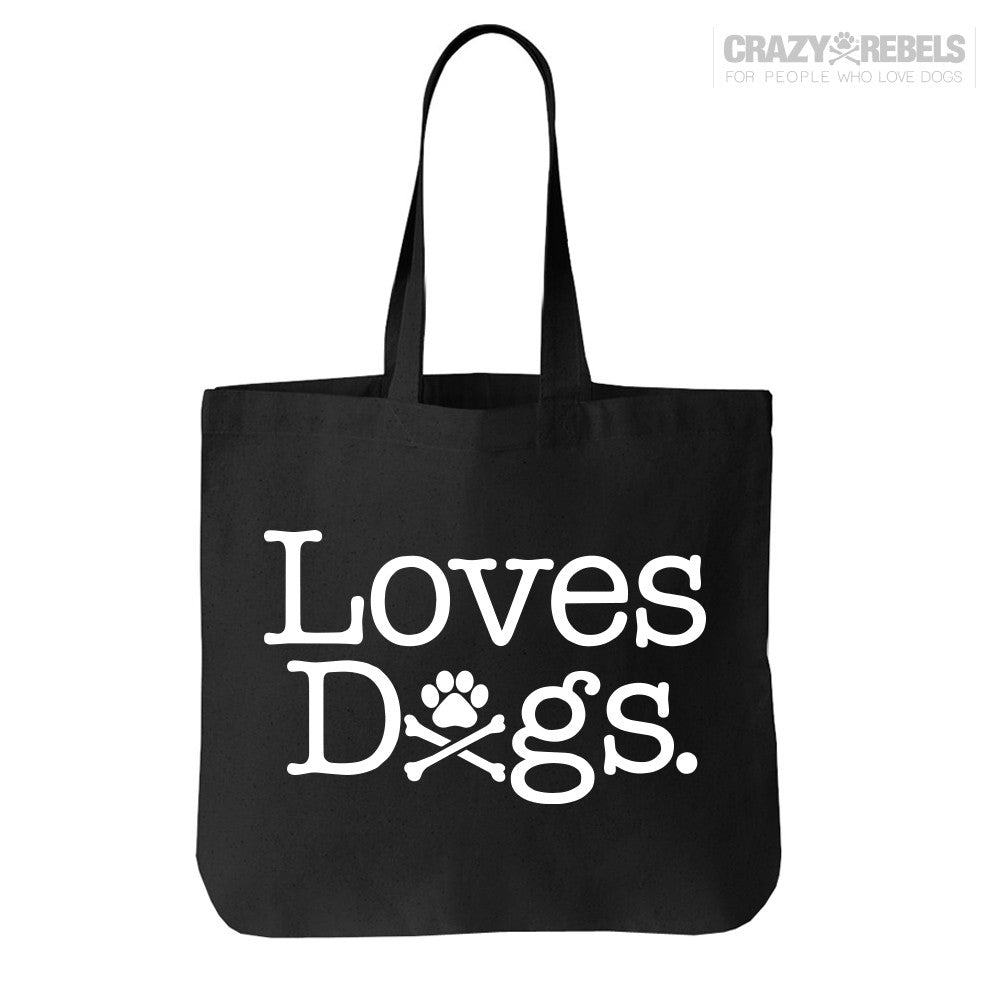 Loves Dogs Tote Bag
