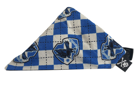 Ravenclaw Bandana (Nylon Collar Not Included)