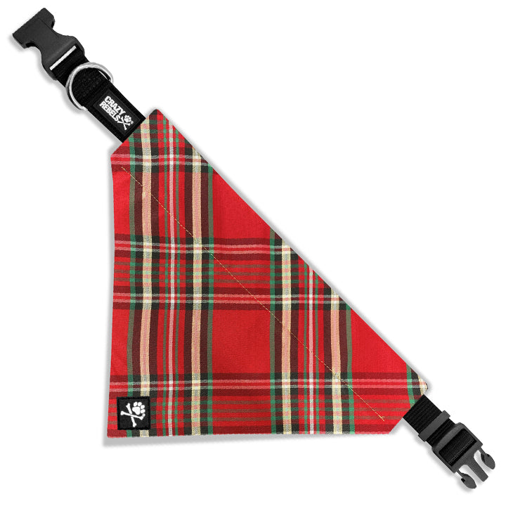Noel (Red) Bandana Collar