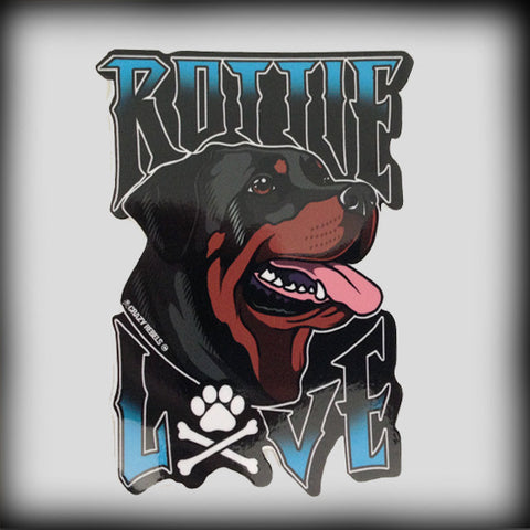 Rottie Love Sticker