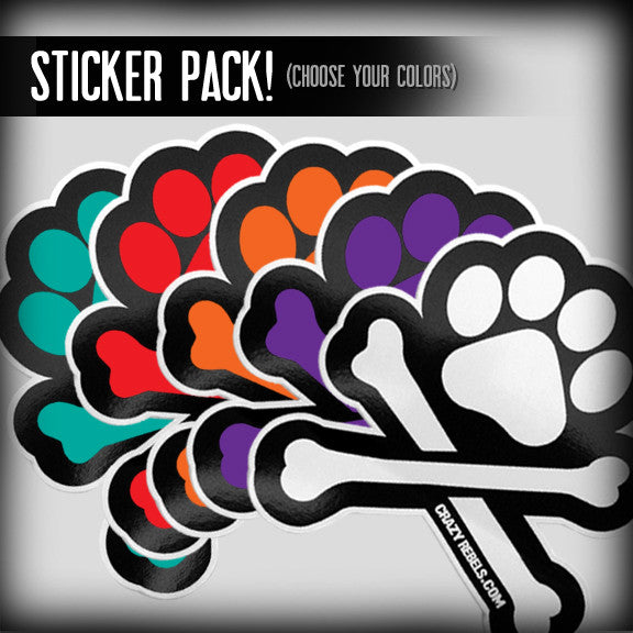 Make Your Own Paw Sticker Pack