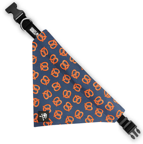 Pretzel Day Bandana Collar