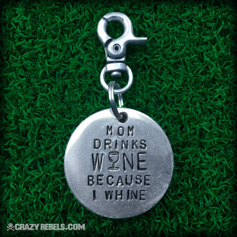 Wine Dog Tag