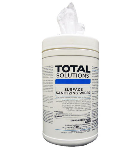 Surface Sanitizing Wipes