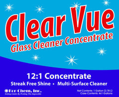 Clear Vue Concentrate  12:1 Glass Cleaner Concentrate