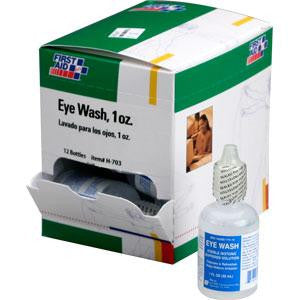 Eyewash, 1 oz, 12/Box