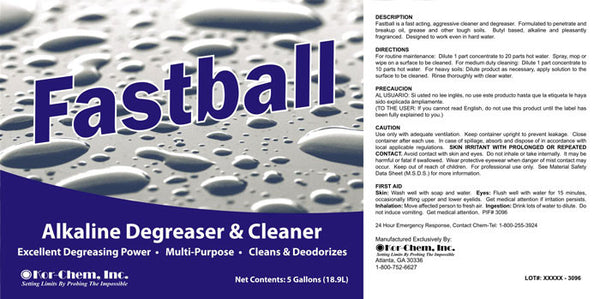 Fastball Concentrated Degreaser Amp Cleaner From Kor Chem