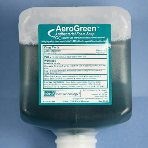 Foaming Hand Soap - AERO GREEN , A Quality Hand Soap