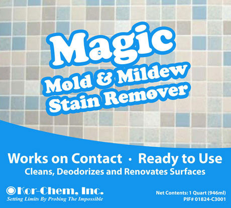 Magic Mildew Stain Remover Removes Stains On Contact