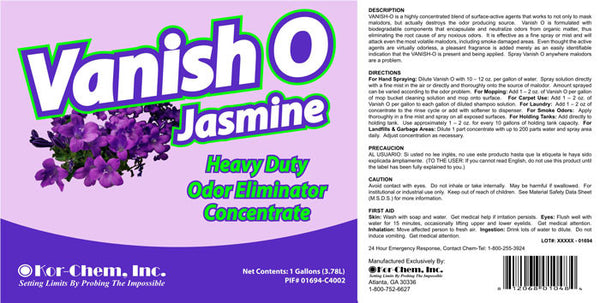 Vanish O Jasmine Concentrated Air Freshener And Odor Control