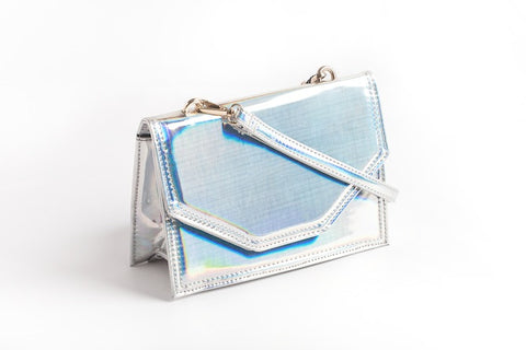 'The Flash' Purse in Silver
