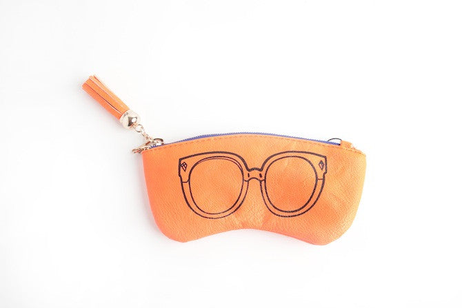 Eye Candy Purse in Neon Orange