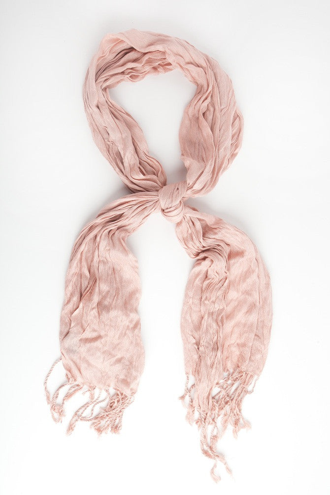 Scarf-Blow Out Scarves Crinkled Collection