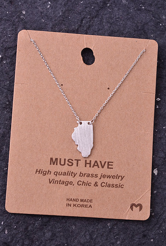 Illinois State Necklace