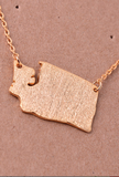 Washington State Necklace