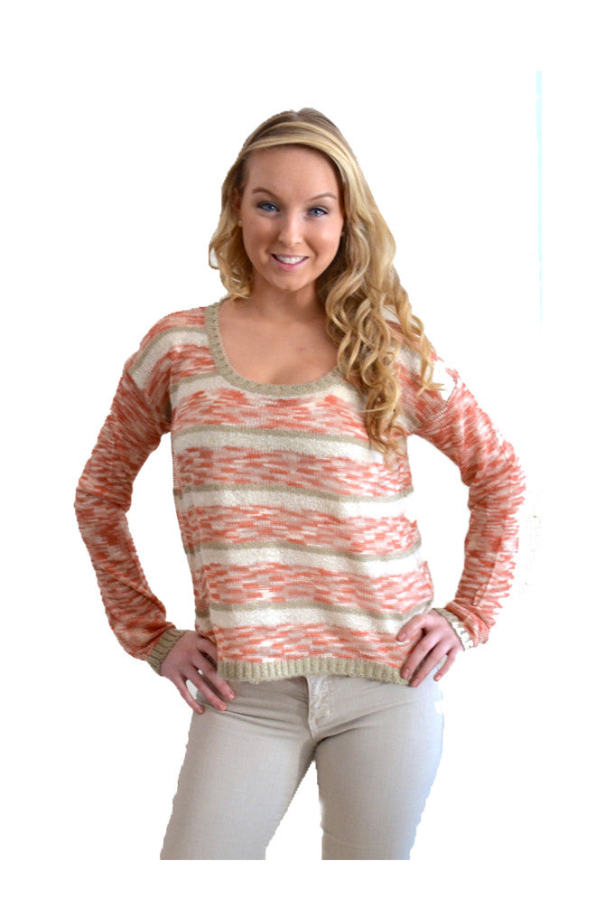 Kensie Stripe Sweater