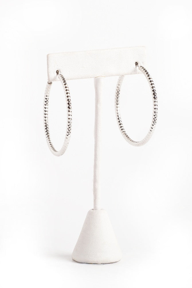 'Loop' Earrings in Silver