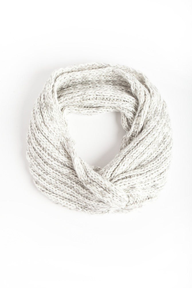 Light Gray Ring Scarf