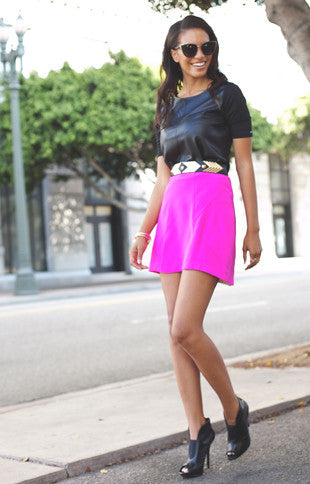 Pink Pink Naven Skirt