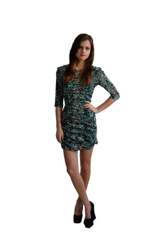 Plastic Island Willow Rouched Dress