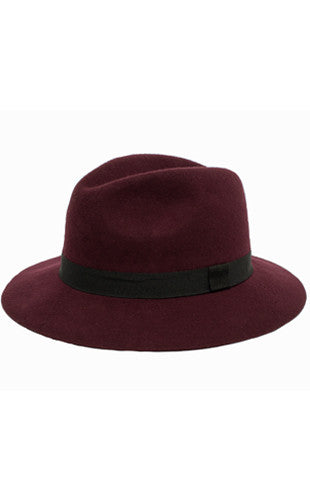 Ribbon Wool Hat