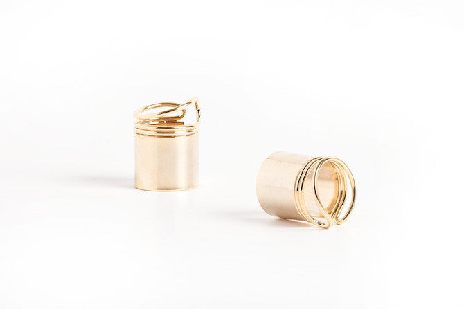 'New Wave' Ring in Gold