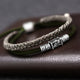 925 Silver Braided Bracelet (Double Layer)