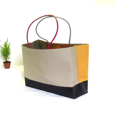 MUNARI BAG - Wax Cotton Montage