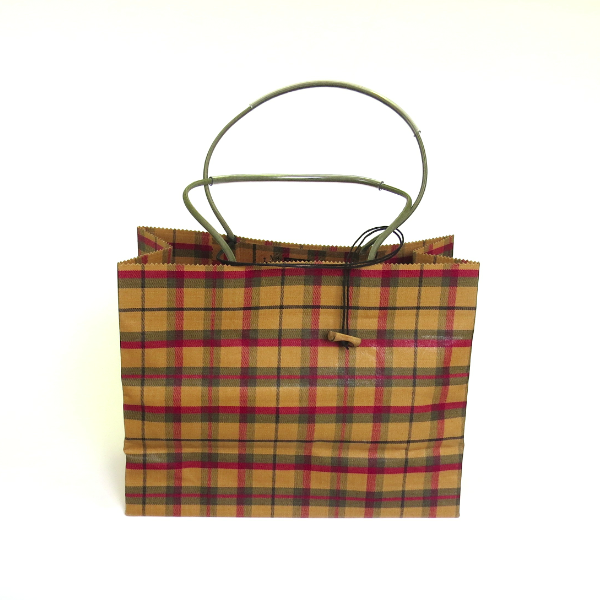Pattern Wax Cotton - Marche/Cedar & Maple Plaid