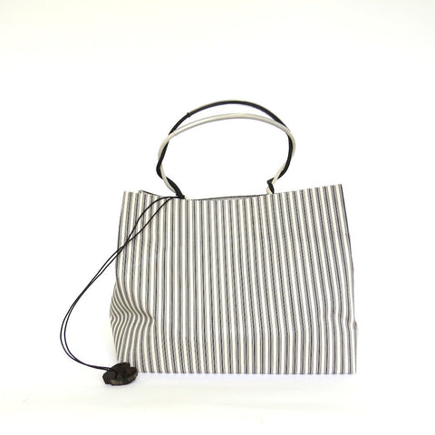 Pattern Wax Cotton - Marche/Ebony Stripe
