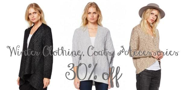Winter Clothing & Accessories on SALE NOW!