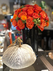 Flowers and velvet pumpkin lusso flowers tony montano