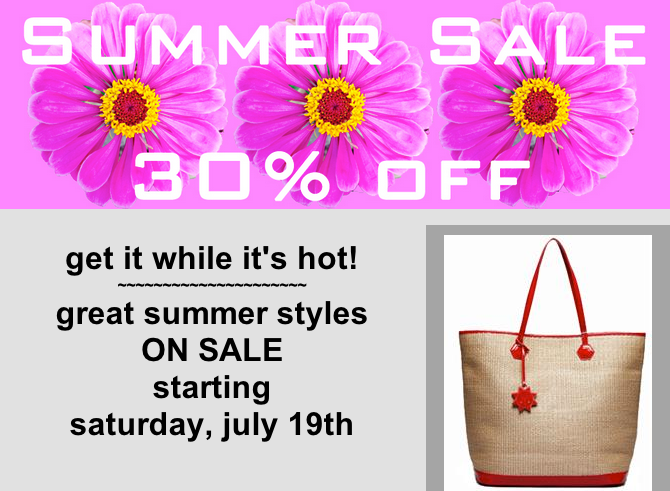 summer sale at lusso