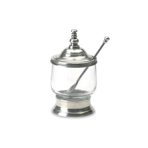 condiment jar w spoon 831.0 - Home & Gift