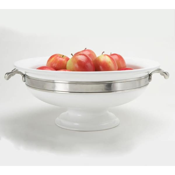 convivio round centerpiece with handles 1530.1 - Home & Gift
