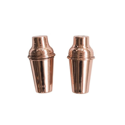 copper finish salt and pepper shakers - Home & Gift