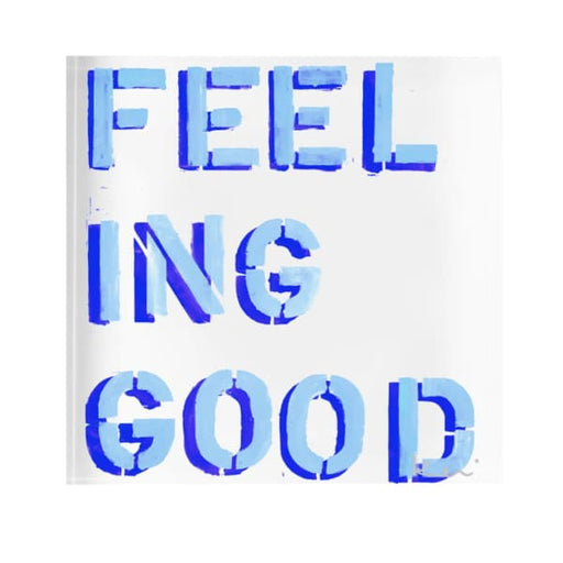 feeling good blue block of love - Home & Gift