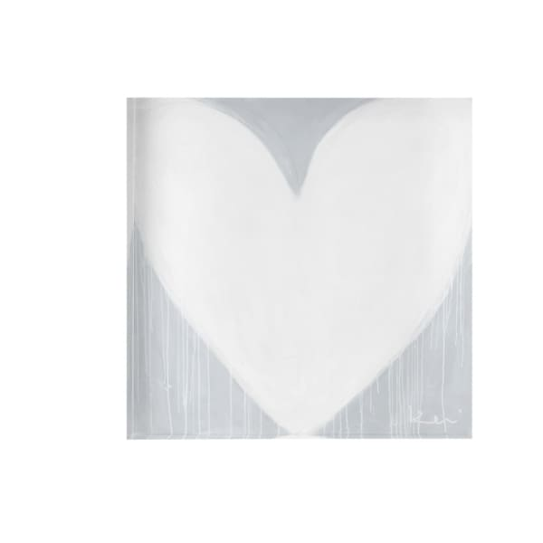 forever heart drippy heart block of love - Home & Gift