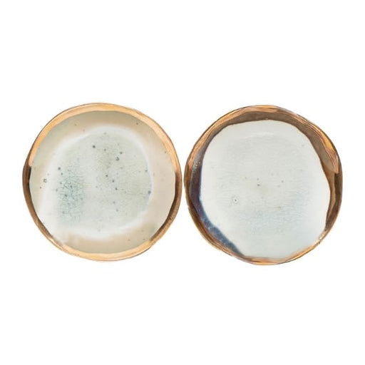 glazed and gold plate - Home & Gift