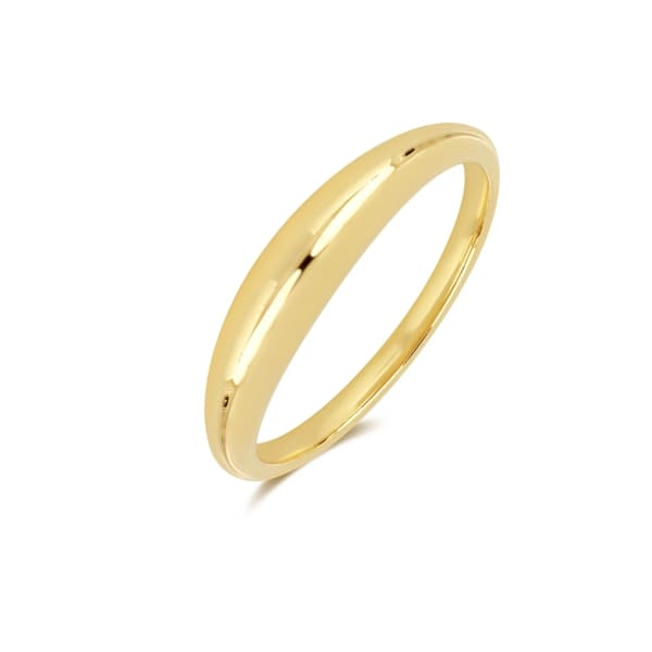 Gold Dome Ring sz 7 - Jewelry