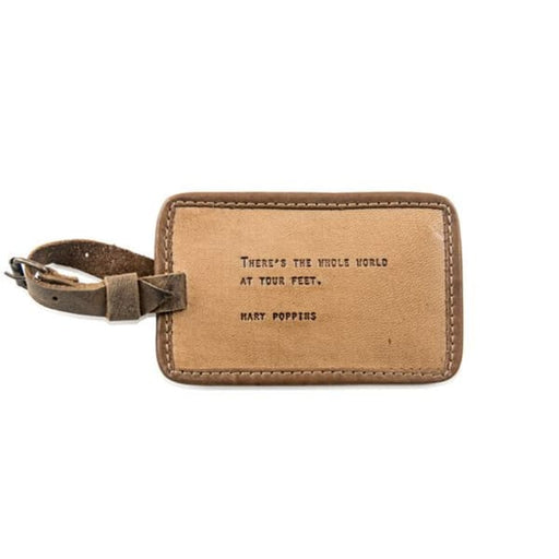 leather luggage tag - Home & Gift