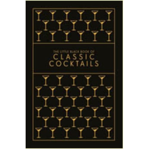 little black book of classic cocktails - Home & Gift